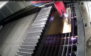 Taglio laser fibra particolari in ottone